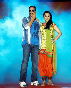 Sonakshi Sinha with Akshay Kumar at film ROWDY RATHORE first look launch at BDD Chawl Grounds in Mumbai Photo