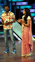 Sonakshi Sinha with director Prabhu Deva on the sets of dance reality show Dance India Dance Lil Masters to promote film Rowdy Rathore Photo