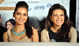 Shazahn Padamsee Jacqueline Fernandez at film Housefull 2 first theatrical promo launch at Cinemax in Mumbai Photo