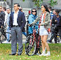 Salman Khan and Katrina Kaif Ek Tha Tiger on Shoot Pic