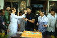 Nandamuri Kalyanram Birthday Celebrations on MLA Movie Sets  22