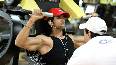 Hrithik Roshan and Trainer Kris Gethin for Krrish 3 Photo