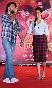Deepika Padukone with Ranveer Singh at film RAM LEELA promotions at Infiniti Mall