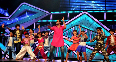 Abhishek Bachchan dancing with kids on Kajra Re song at Dance India Dance Little Masters sets in Mumbai Photo