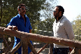 Ajay Devgn Rohit Shetty Bol Bachchan on Sets Pic