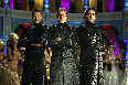 Ajay Devgn Abhishek Bachchan and Amitabh Bachchan Bol Bachchan Movie Stills