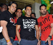 Salman Khan with Prabodh Vasant Davkhare at the launch of fitness center NITRO Pure Fitness Photo