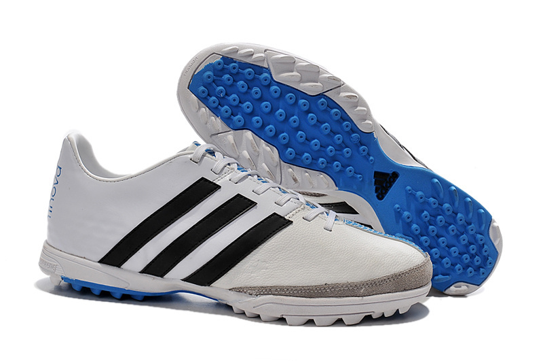 new style 3dd28 26e1e Latest Adidas Soccer Boots 2015 TF 11Pro TRX white blue black  www.cheapnikesoccers.com