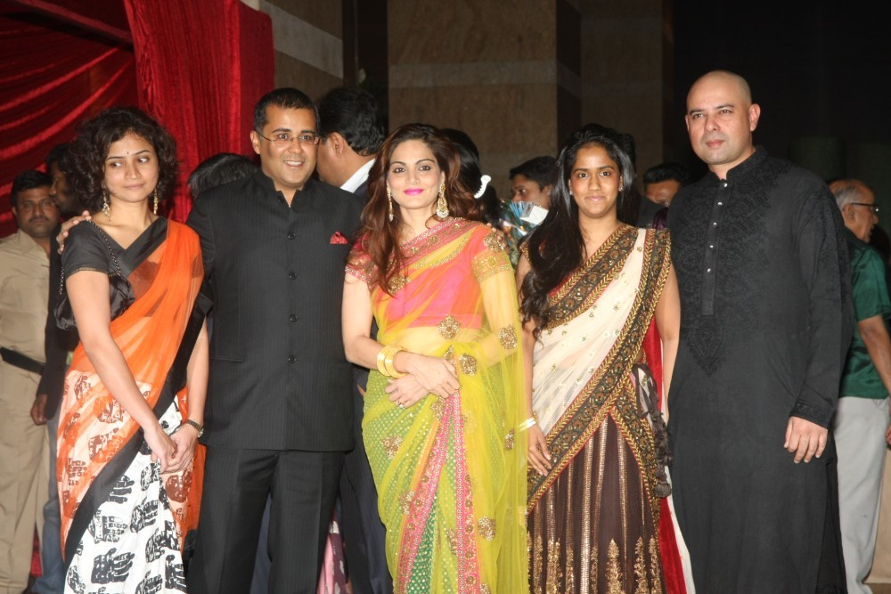 Chetan Bhagat And His Wife Marriage Photos
