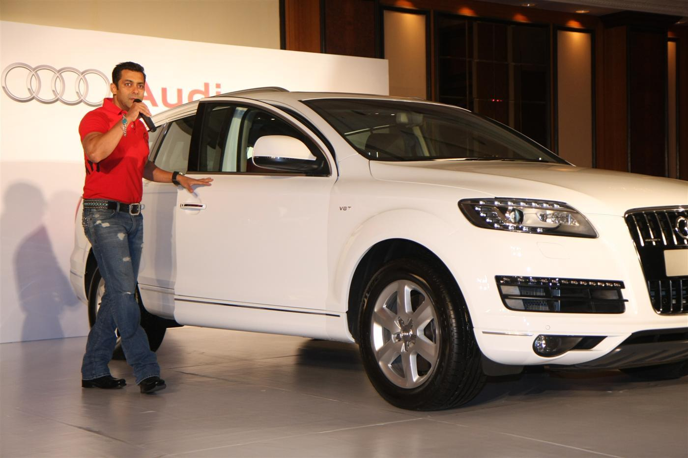 Salman Khan Cars Images Salman Khan posing with his