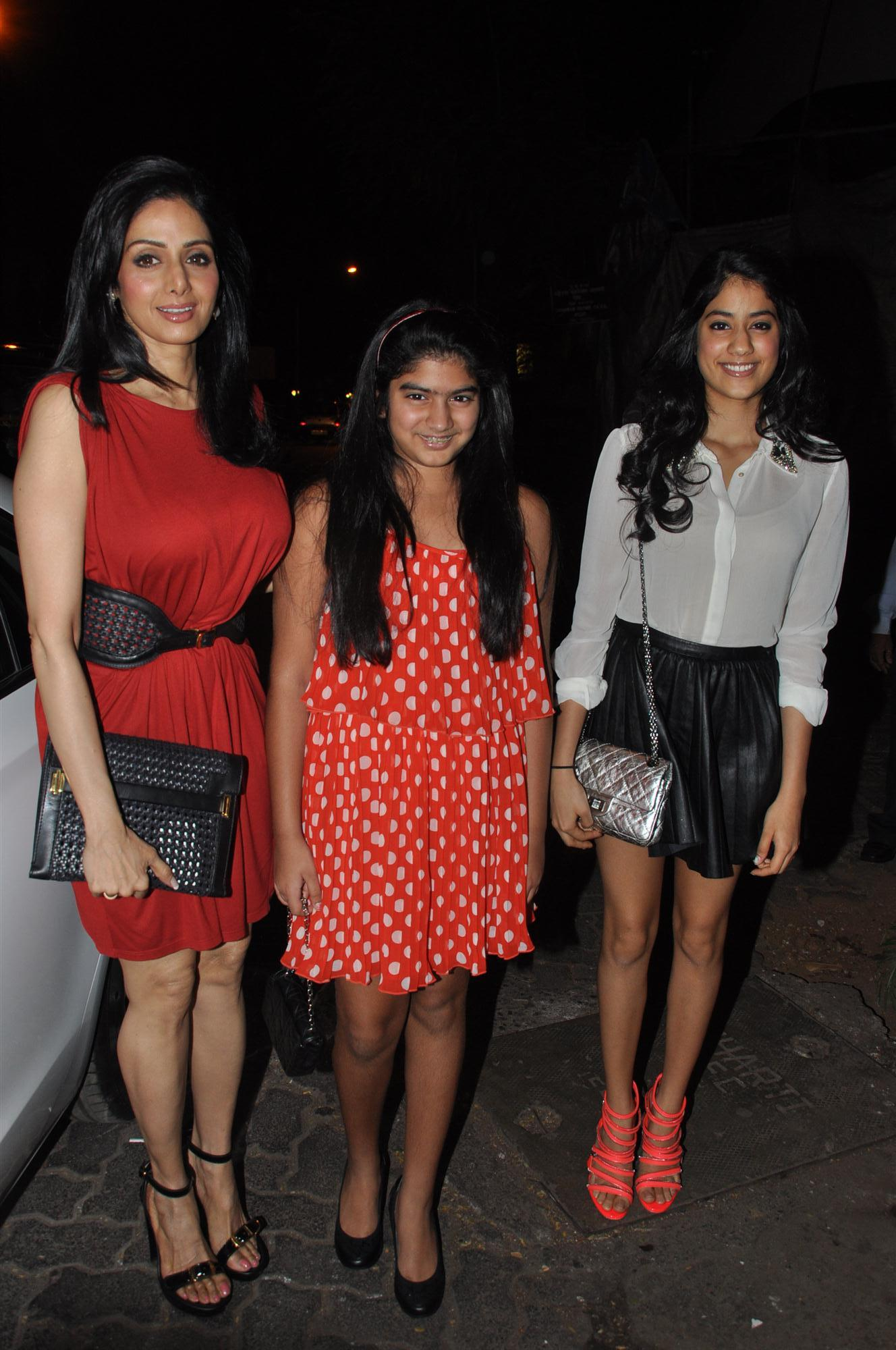 Sex daughters of sridevi