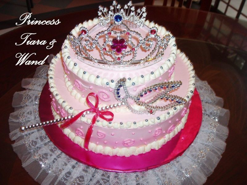 Princess Crown Cake Images : cake princess crown cakes for girls 103858 : bakery shops ...