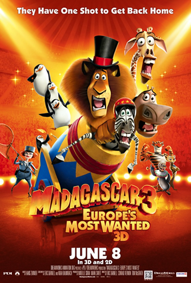 madagascar 3 poster - photo #13