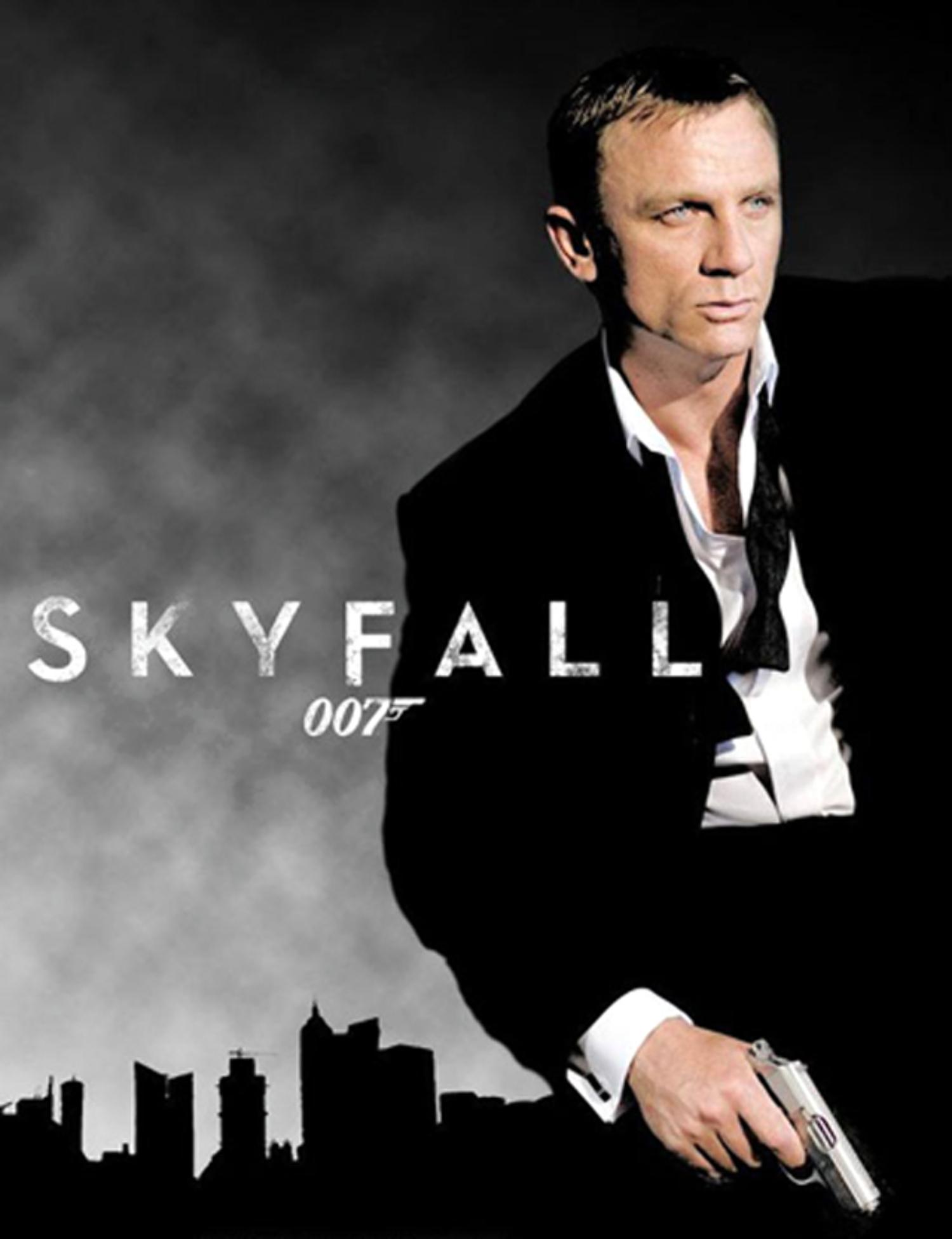 Daniel craig as james bond skyfall movie wallpaper - Daniel craig bond wallpaper ...