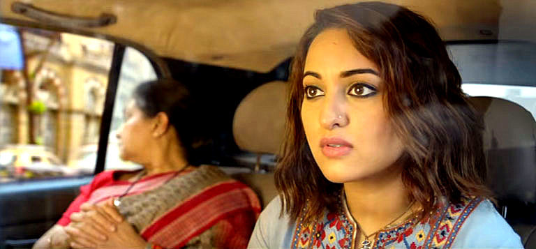 Sonakshi sinha in nose ring in akira