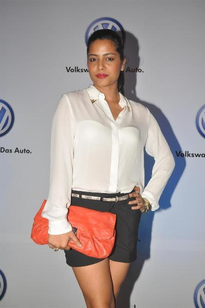 bollywood celebs at planet volkswagen launch at blue frog-photo2