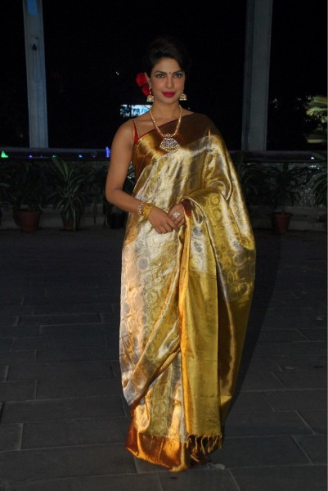 Priyanka Chopra at Uday Singh and Shirin Morani wedding reception
