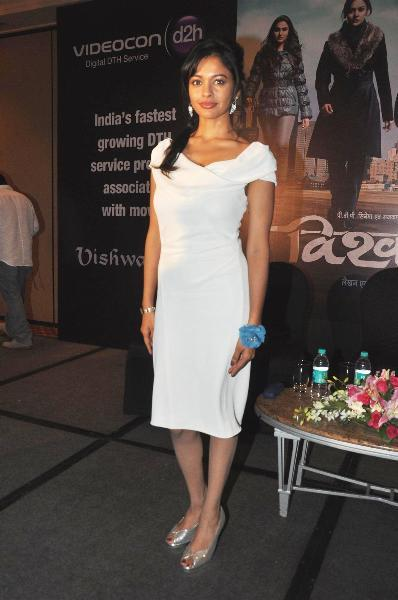 Pooja Kumar at film VISHWAROOPPremiere tie up with VIDEOCON DTH announcement event in Mumbai  3