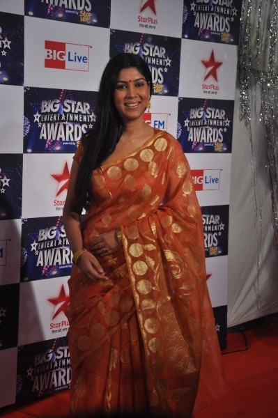 Sakshi Tanwar at BIG STAR ENTERTAINMENT AWARDS 2011 in Mumbai