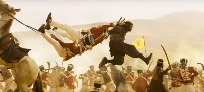 Chiranjeevi satrrer Sye Raa Narasimha Reddy Telugu Movie Photos  13