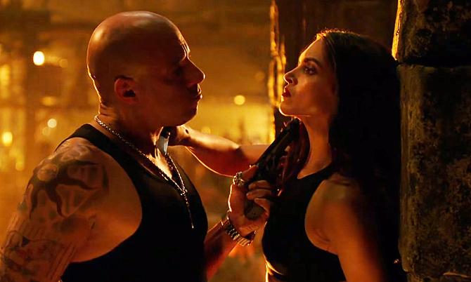 Deepika Padukone and Vin Diesel XXX Return of Xander Cage Movie Stills  5