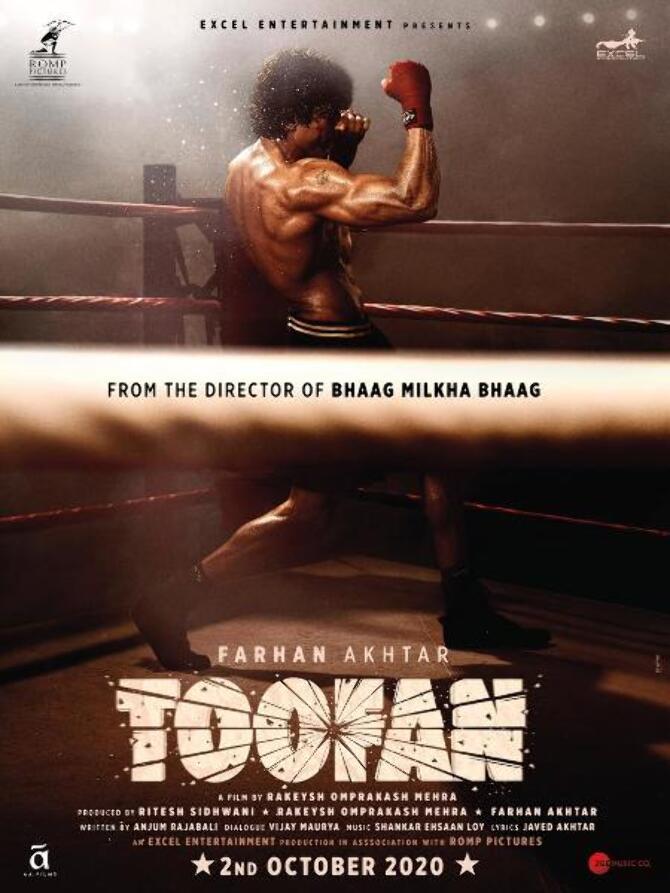 Farhan Akhtar in sports drama movie Toofan