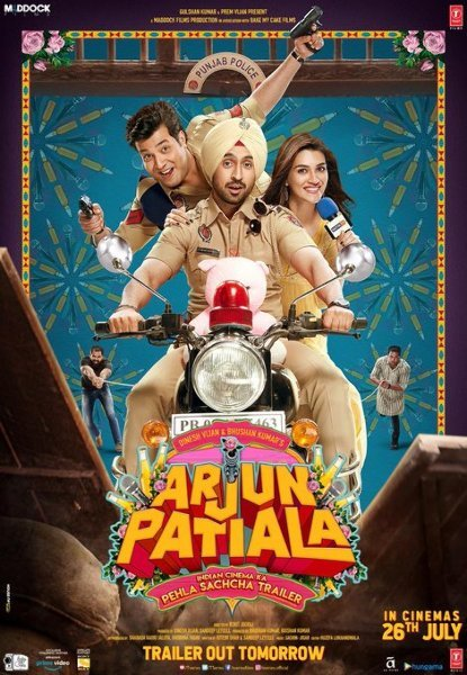 Diljit Dosanjh  Kriti Sanon and Varun Sharma starring Arjun Patiala Movie Photos  3