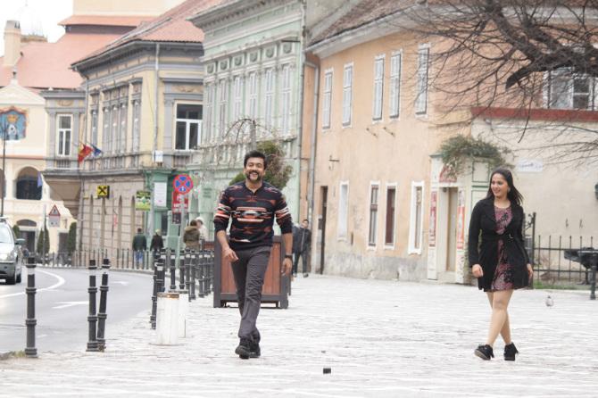 Anushka Shettyand Suriya S3 Tamil Movie Stills  34