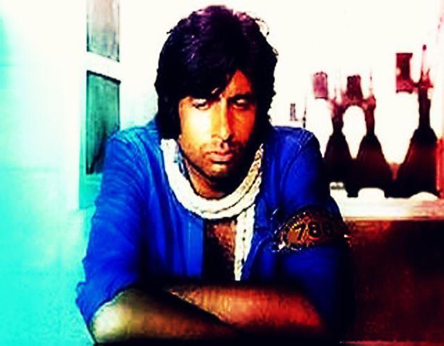 Amitabh Bachchan Movie Coolie Photo