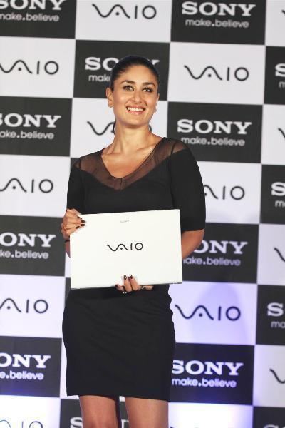 Kareena Kapoor at the launch of new range of SONY VAIO laptops in Mumbai Photo