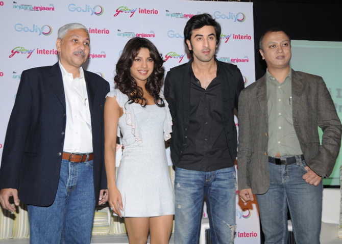 priyanka chopra and ranbir kapoor for godrej event