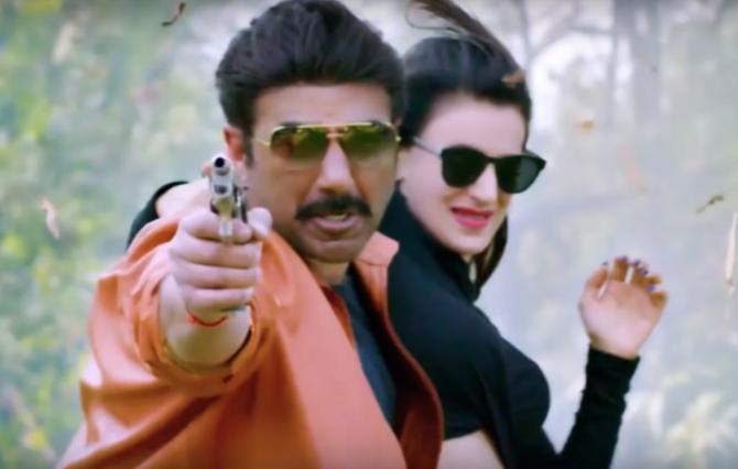 Ameesha Patel   Sunny Doel starrer Bhaiaji SuperhitHindi movie photos  14