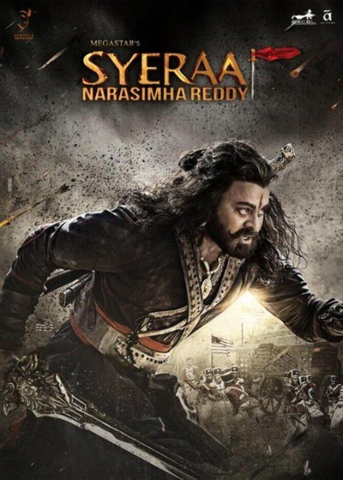 Chiranjeevi character poster of movie Sye Raa Narasimha Reddy