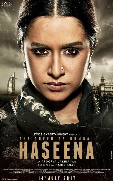 Shraddha Kapoor  s HASEENA Movie Poster First Look