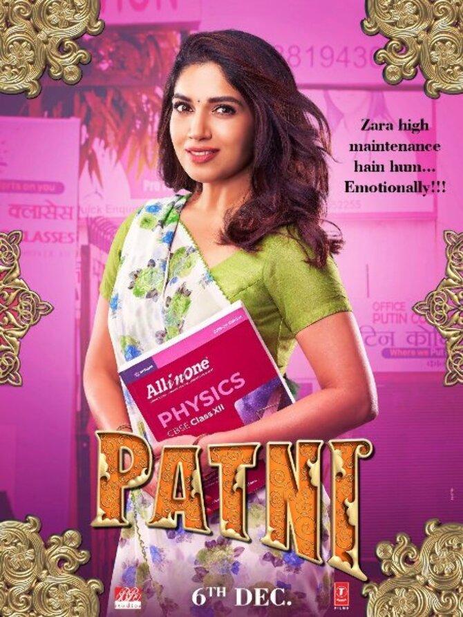 Meet the Patni Bhumi Pednekar in the new character poster of Pati Patni Aur Woh