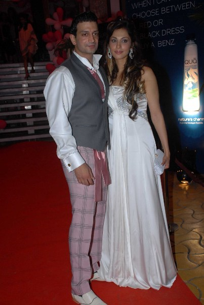 Isha Koppikar with husband Timmy Narang