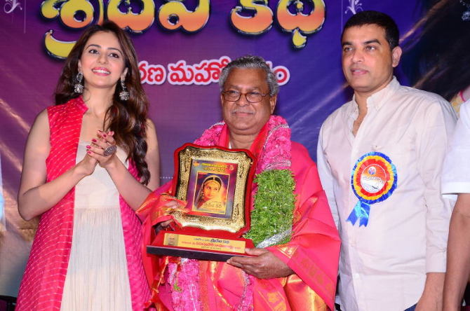 Rakul Preet Singh Launches Sridevi Katha Book  5
