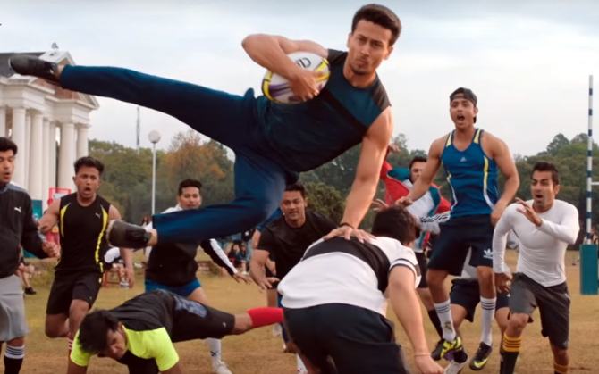 Tiger Shroff starring Student of the Year 2 Hindi Movie Stills  18