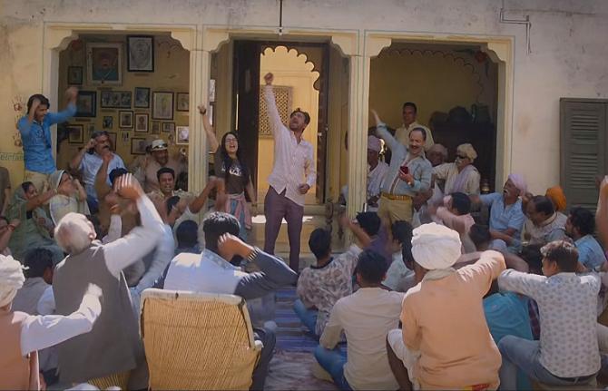 Radhika Madan   Irrfan Khan starrer Angrezi Medium Hindi Movie Photos  25