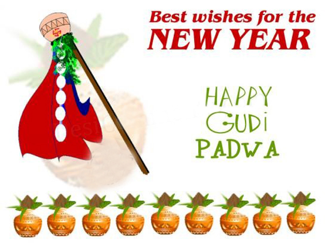 Happy Gudi Padwa Marathi Wishes