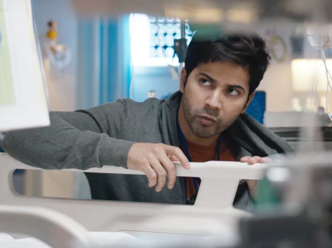 Varun Dhawan starrer October Movie Photos  10