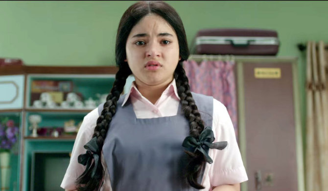 Zaira Wasim Secret Superstar Movie Stills  4