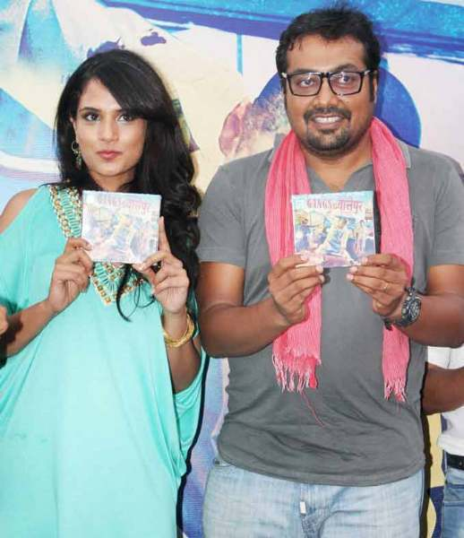 Richa Chadda and Anurag Kashyap GANGS OF WASSEYPUR Music Launch Photo