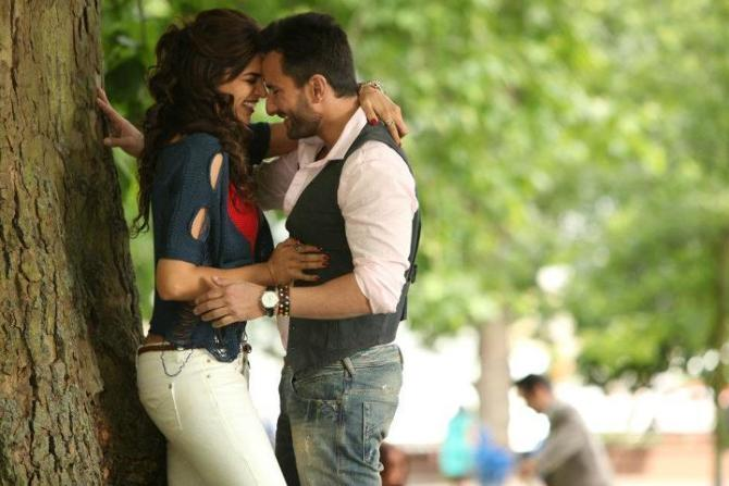 Saif Ali Khan Deepika Padukone in Cocktail Movie Stills
