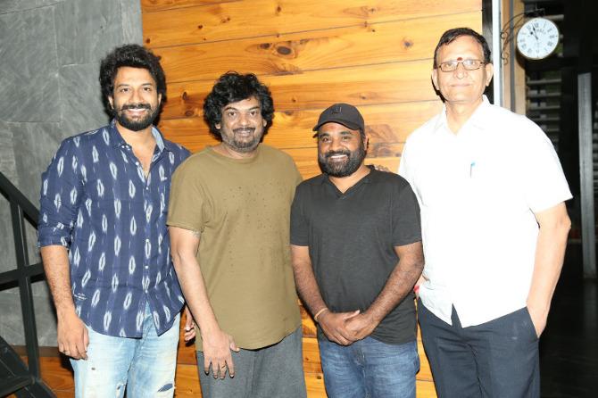 Puri jagannath Released Bluff Master Movie Title Logo  6