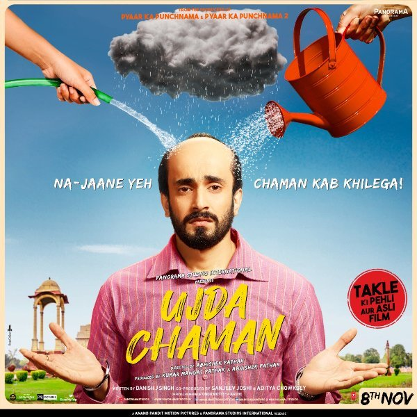 New poster of Ujda Chaman starring Sunny Singh  2