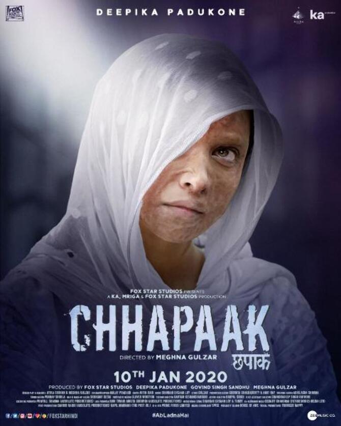 First look posters Chhapaak stars Deepika Padukone and Vikrant Massey  2