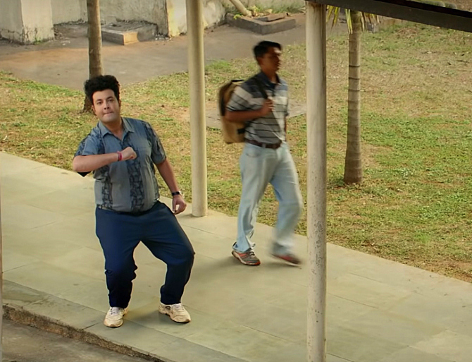 Varun Sharma as Sexa in Chhichhore Hindi Movie Photos  66