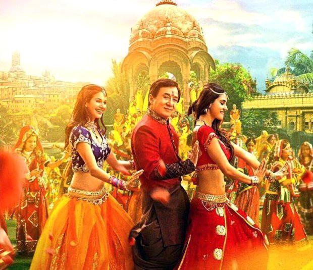 Disha Patani Jackie Chan Kung Fu Yoga Movie Stills  16