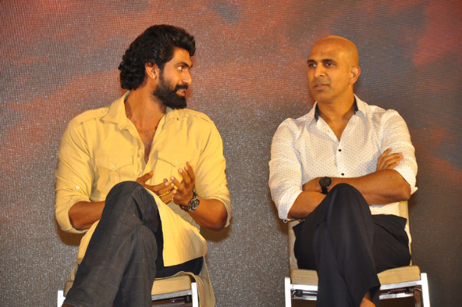 Rana Daggubati  Rajamouli Bahubali   The Conclusion Movie Pressmeet  2